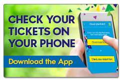 Check that ticket you're holding with the Lotto NZ App!